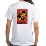 Obey the Malamute! White T-Shirt