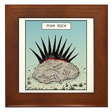 Punk Rock Framed Tile