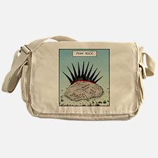 Punk Rock Messenger Bag