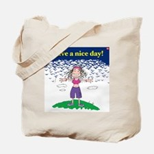 nice day girl Tote Bag