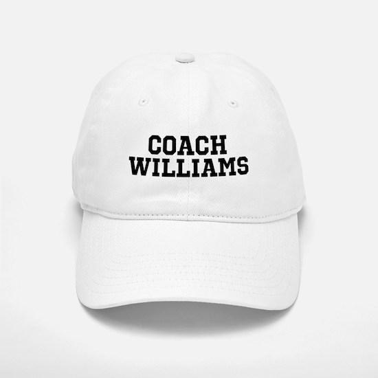 Personalized Sports Coach Baseball Baseball Cap