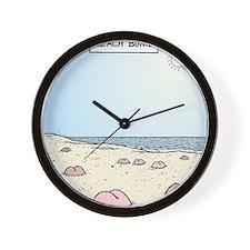 Beach Bums Wall Clock