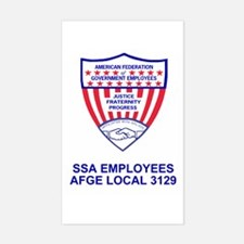 AFGE Sticker For AFGE Local 3129