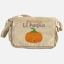 Daddys Little Pumpkin Messenger Bag