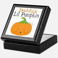 Daddys Little Pumpkin Keepsake Box