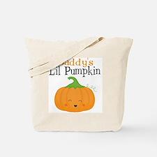 Daddys Little Pumpkin Tote Bag