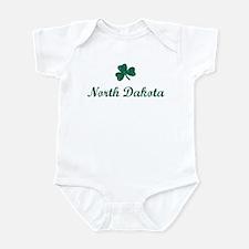 North Dakota (vintage shamroc Infant Bodysuit