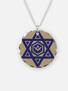 Masonic Star of David Necklace