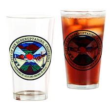 San Bankruptadino, California Drinking Glass