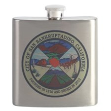 San Bankruptadino, California Flask