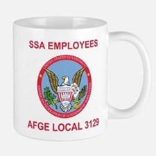 AFGE Coffee Cup 2 For AFGE Local 3129