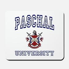 PASCHAL University Mousepad