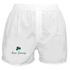 New Jersey (vintage shamrock) Boxer Shorts