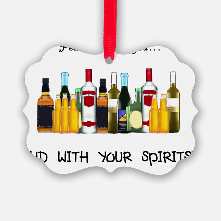 And With Your Spirits Ornament