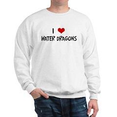 I Love Water Dragons Sweatshirt
