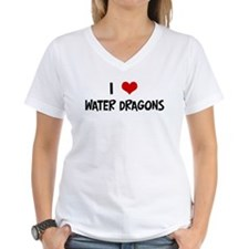 I Love Water Dragons Shirt