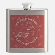 BONGO CHRISTMAS MAGNET NEW Flask