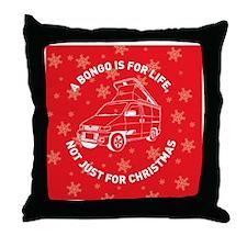 BONGO CHRISTMAS MAGNET NEW Throw Pillow