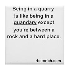 Quarry Tile Coaster