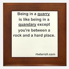 Quarry Framed Tile