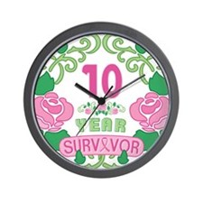 BCA 10 Year Survivor Wall Clock