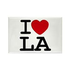 I Love La Magnet Magnets