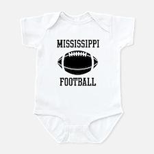 Mississippi football Infant Bodysuit