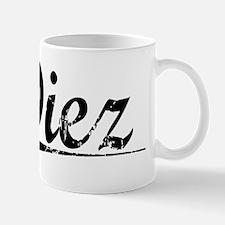 Diez, Vintage Mug