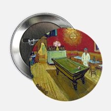 "Vincent Van Gogh Night Cafe 2.25"" Button"