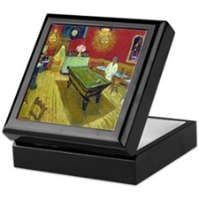 Vincent Van Gogh Night Cafe Keepsake Box