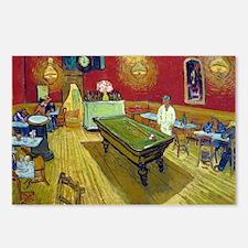 Vincent Van Gogh Night Ca Postcards (Package of 8)