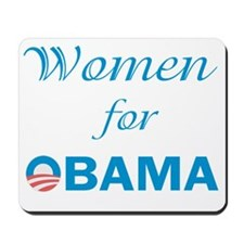 Women For Obama Mousepad