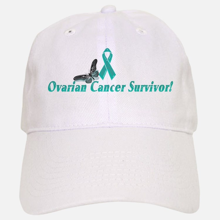 Ovarian Cancer Survivor baseball cap