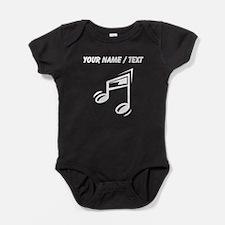 Custom Eighth Note Baby Bodysuit