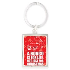 MAZDA BONGO IS FOR CHRISTMAS MAG Portrait Keychain