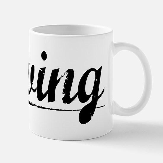 Erving, Vintage Mug