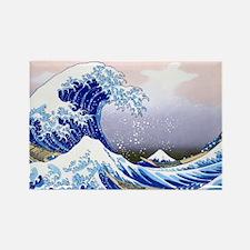 LAPTOP -Gr8 Wave-Hokusai Rectangle Magnet