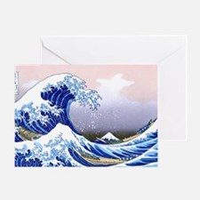 LAPTOP -Gr8 Wave-Hokusai Greeting Card