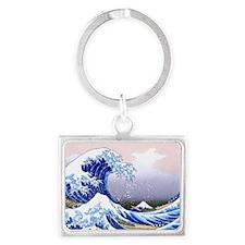 LAPTOP -Gr8 Wave-Hokusai Landscape Keychain