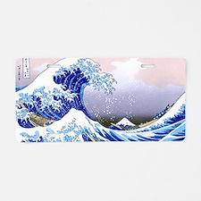 LAPTOP -Gr8 Wave-Hokusai Aluminum License Plate