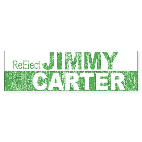 Re-Elect Jimmy Carter Bumper Sticker