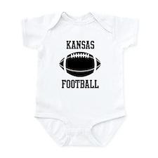 Kansas football Infant Bodysuit
