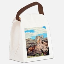 Peek-a-boo Arch at Capitol Reef N Canvas Lunch Bag