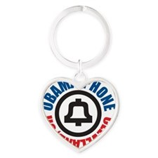 Obama Phone Heart Keychain