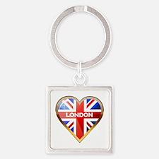 London Square Keychain