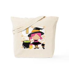 Girls Halloween 1 Tote Bag