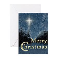 The Bethlehem Star Greeting Card