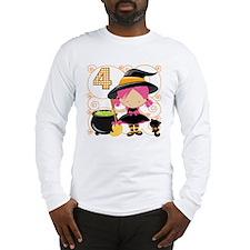 Girl Halloween 4 Long Sleeve T-Shirt
