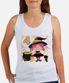 Girl Halloween 4 Women's Tank Top