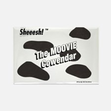 Moovie Cowendar Rectangle Magnet